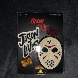 Friday the 13th pin & patch set